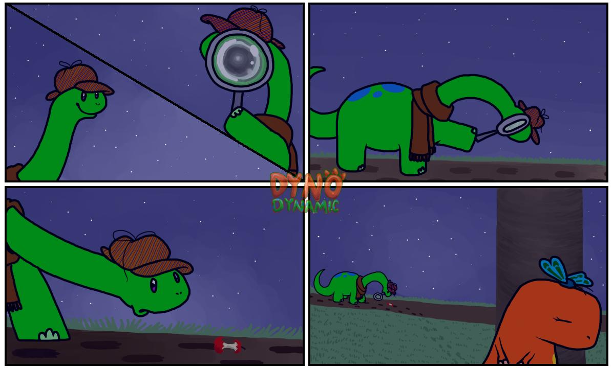 Dino comic 6.2 wlogo